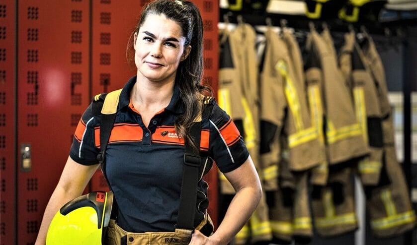 <p>Er wordt nogal wat van je gevraagd bij Brandweer Haaglanden. Mentaal en fysiek moet je daarom in topconditie zijn, net als Emmeliene.</p>