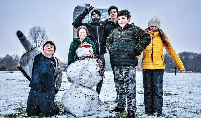 <p>Winter bij Molen De Vlieger (foto: Sebastiaan Barel).</p>
