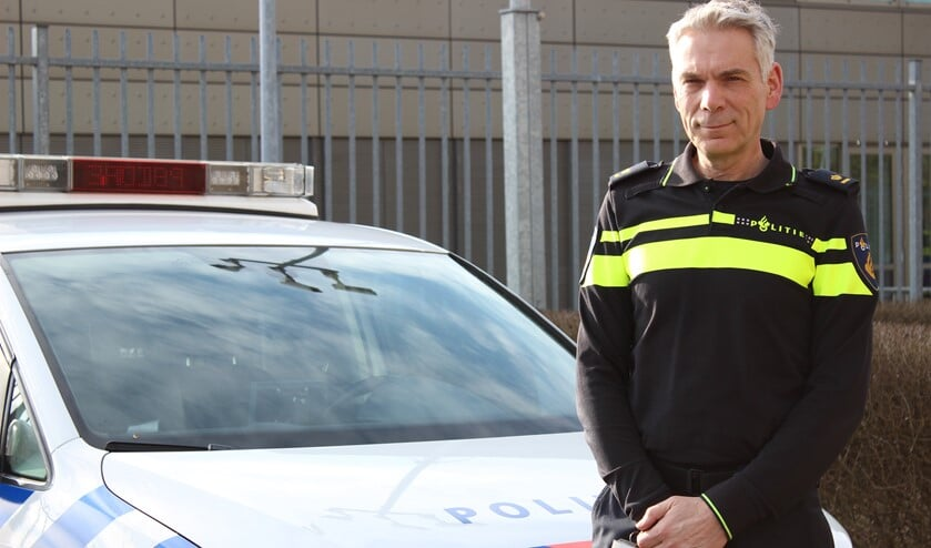 <p>Politiechef Gerard Anker.</p>
