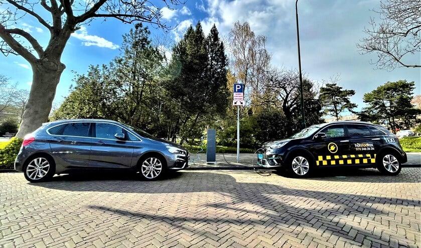 Openbare laadpaal voor elektrische auto's in Leidschendam (foto: gemeente LV).