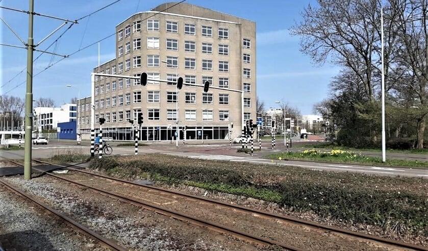 <p>In dit (voormalige) kantoorpand aan de Appelgaarde start naar verwachting op 19 april de zesde vaccinatie-<br>locatie in de regio Haaglanden (foto: gemeente LV).</p>