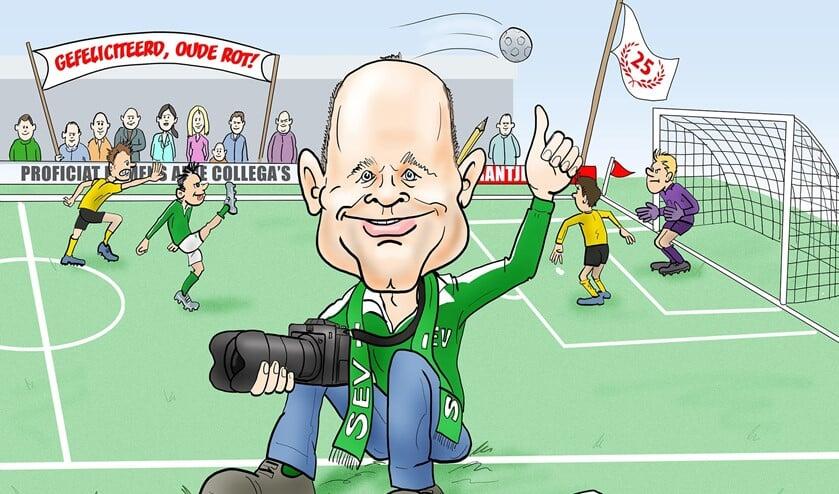 Alexander Wagener is al ruim 25 jaar als sportverslaggever werkzaam bij en voor Het Krantje.