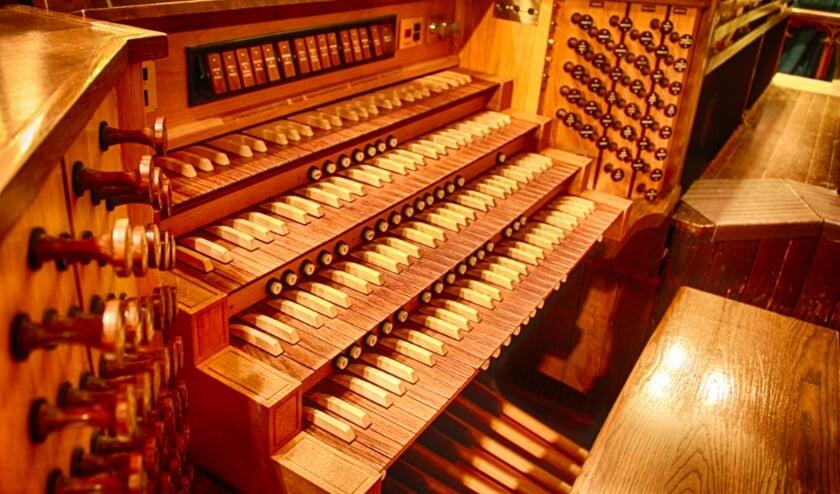 De foto is niet van het betreffende orgel in Numansdorp (-red.)