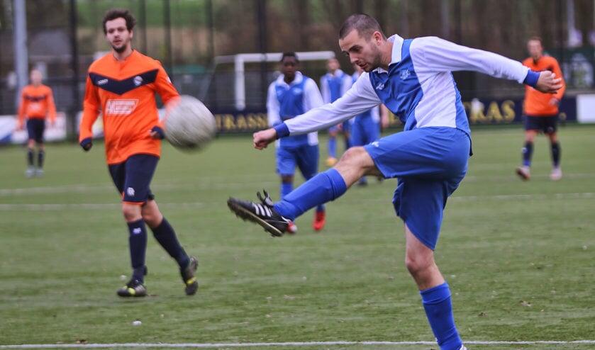 SCO'63 werd zaterdag matchwinnaar van de derby met Simonshaven. Fotografie: Peter de Jong