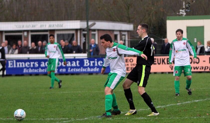 Bernisse was onverzettelijk tegen Rijnmond HS. Foto's: Peter de Jong.