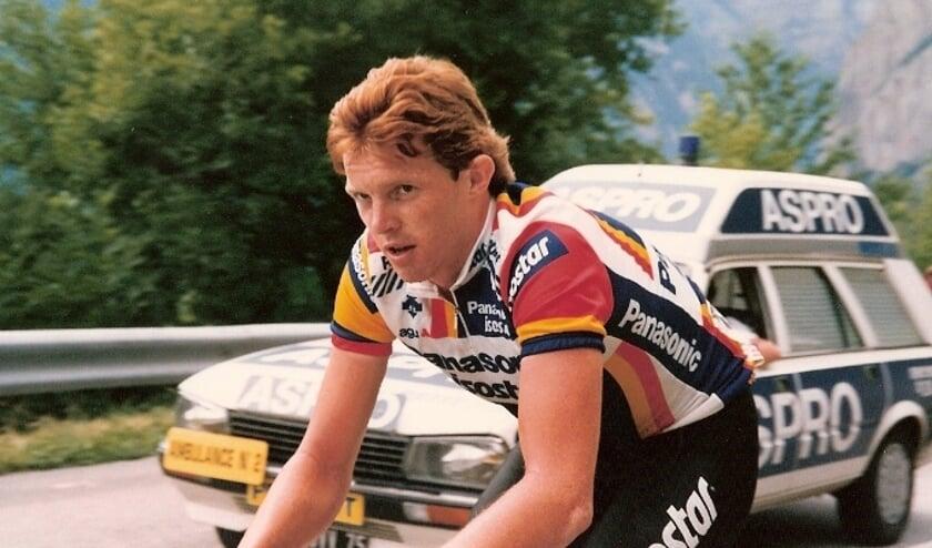 John Talen in de Tour de France, juli 1987. Foto: Jan Suijkerbuijk.