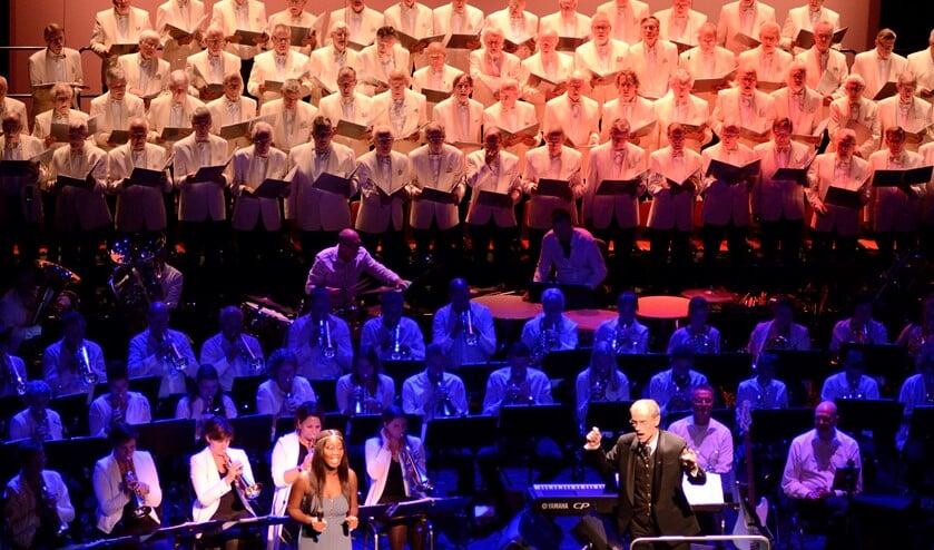 Koor, orkest en solist stonden garant voor een muzikale happening.
