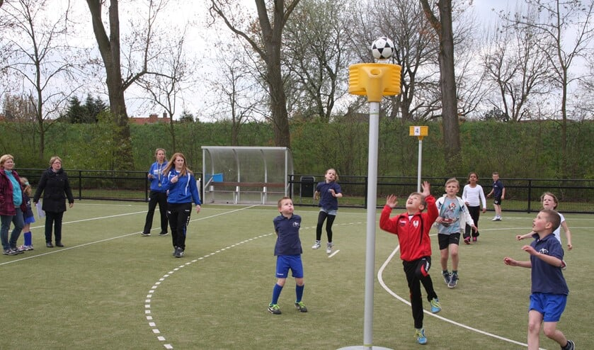Ook dit jaar is er weer een schoolkorfbaltoernooi. Foto: KV Olympia.
