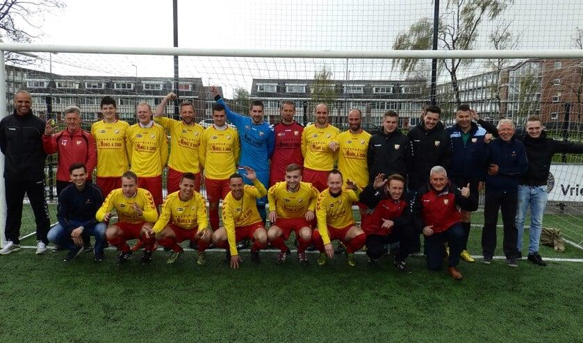 OHVV ging zondag na het kampioenschap gewoon verder met winnen. Fotografie: Alex Hordijk