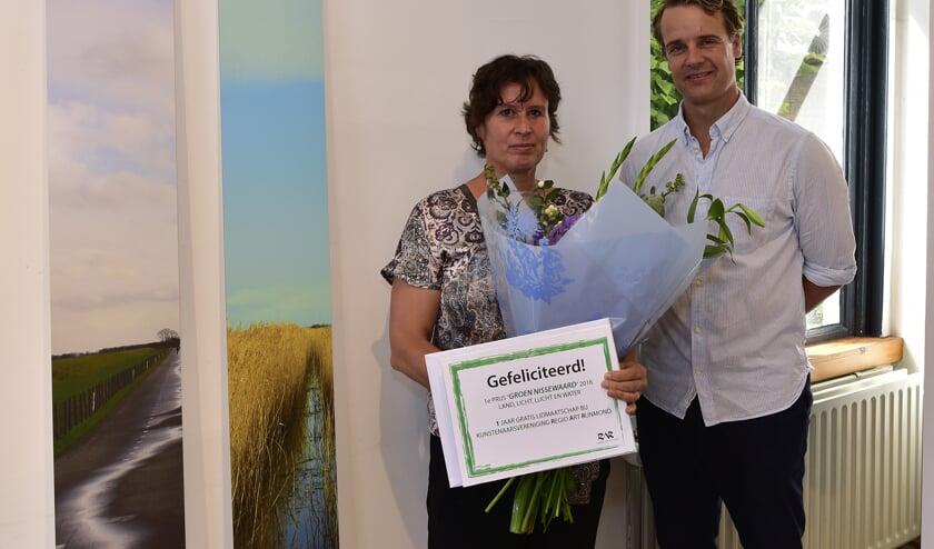 Bea van Golen werd door de jury uitgeroepen tot winnaar. Foto: René Bakker.