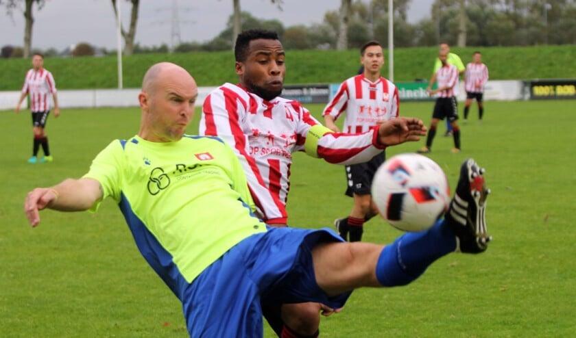 Hekelingen was zaterdag de sterkste in het duel met Abbenbroek.