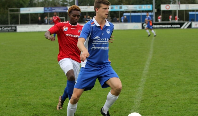VV Zuidland won zaterdag het eerste thuisduel van dit seizoen van VDL.