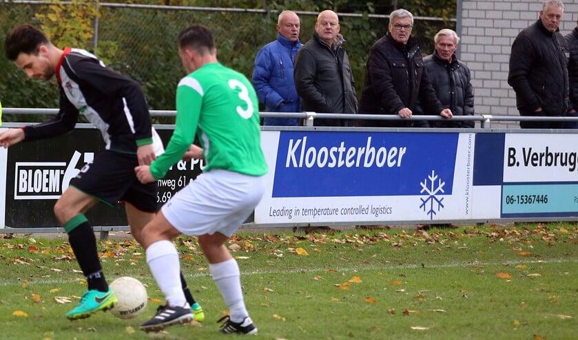 GHVV'13 wist zaterdag de punten te paken in het duel met VV Pernis.