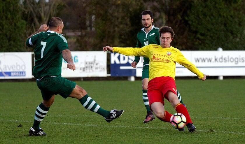 OHVV kwam pas laat met een treffer tegen COAL. Hierdoor verloor het team uit Oudenhoorn met 1-3 van COAL.