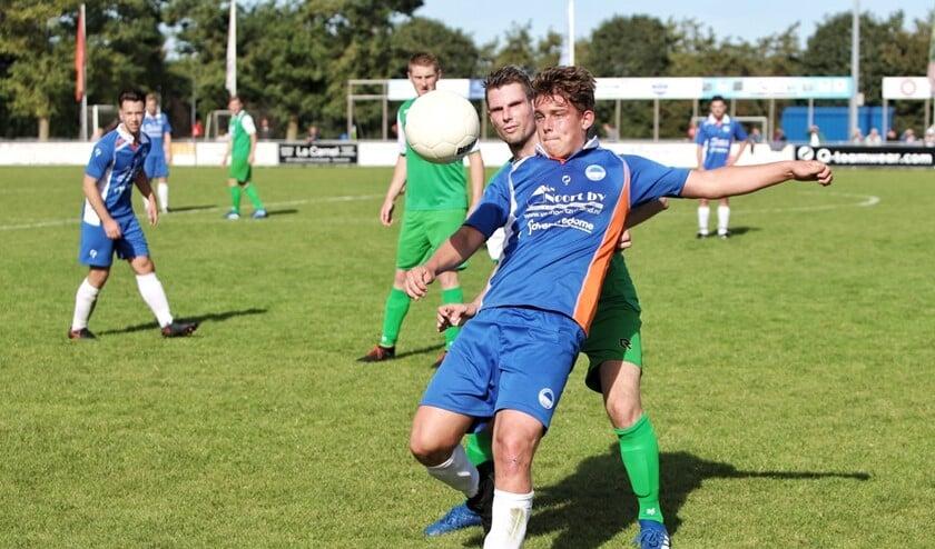 Zuidland kwam zaterdag op eigen terrein niet verder dan 2-2 tegen SVS.