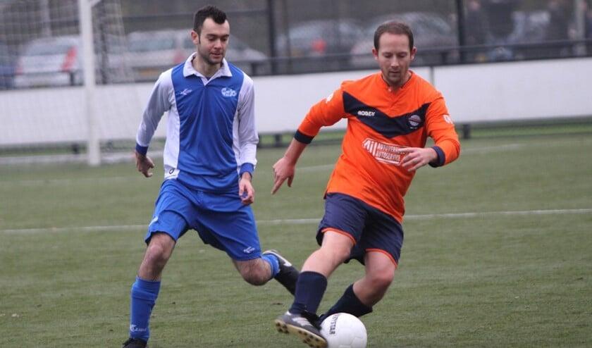 Simonshaven kwam er zaterdag in het duel met GOZ niet aan te pas en verloor met 0-2.