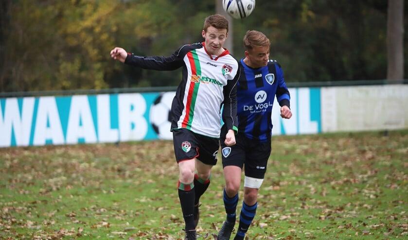 GHVV'13 wist zaterdag op eigen terrein te winnen van De Jonge Spartaan.