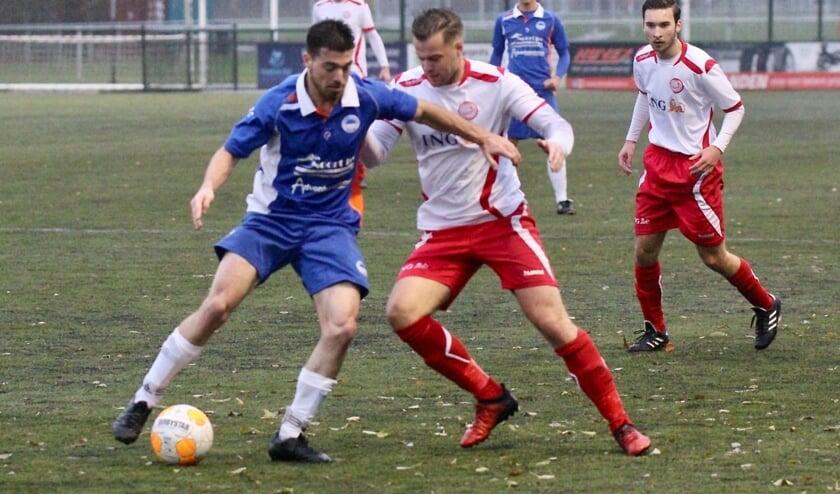 Zuidland kon zaterdag bij Hellevoetsluis niet imponeren en verloor met 5-2.