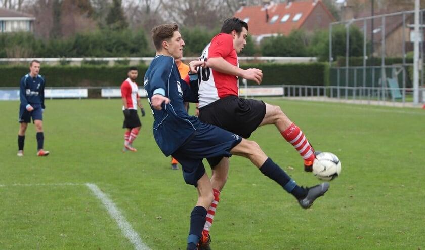 Abbenbroek won de laatste wedstrijd die de ploeg in 2018 speelde met 2-0 van Stellendam. Fotografie: Peter de Jong