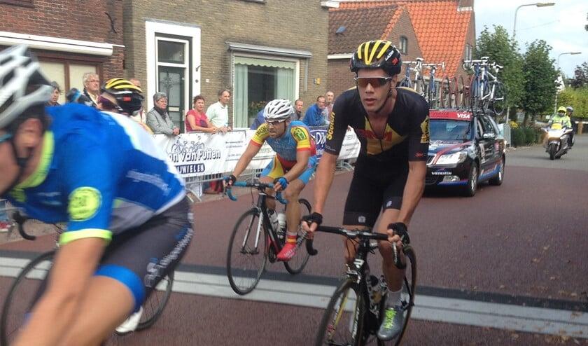 Michael Vingerling won in september 2016 de laatste Ronde van Abbenbroek voor elite/beloften.