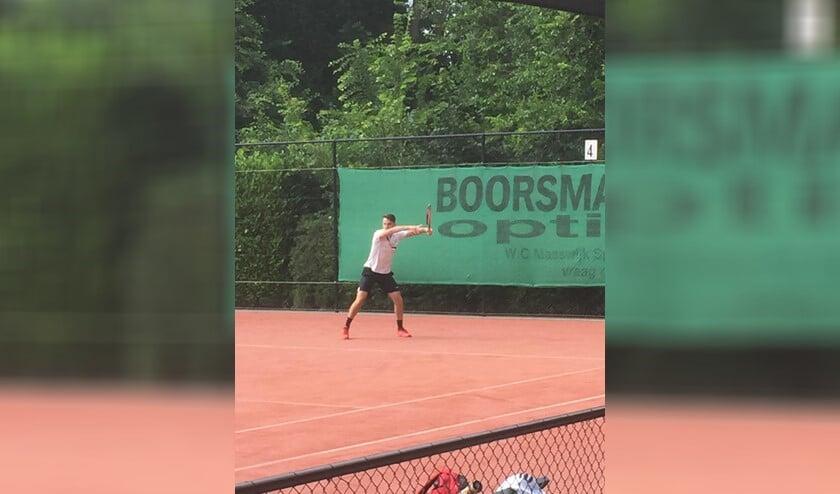 Toine Bisscheroux was zondag de sterkste bij het open toernooi van De Hartel. Foto: Yvonne van Arnhem