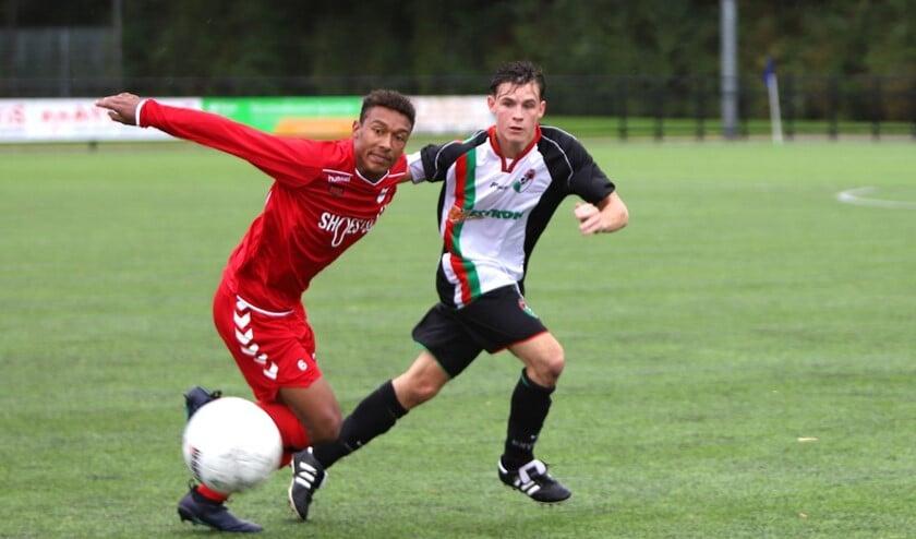 GHVV'13 werd zaterdag aan het slot winnaar van het duel met SC Botlek, 2-3.