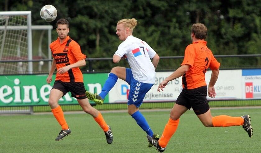 Jorn Berkelaar scoorde zaterdag één van de treffers van SC Botlek tegen Melissant.