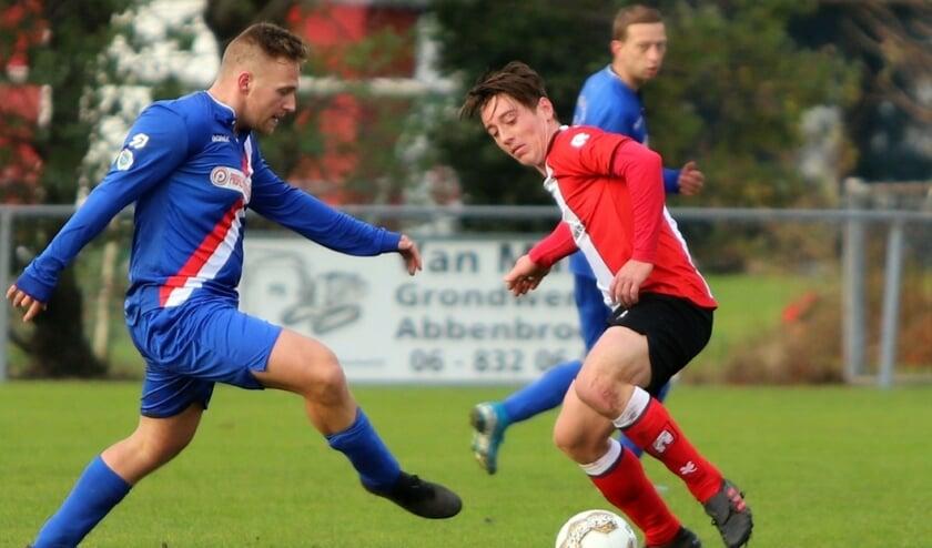Abbenbroek had zaterdag een gemakkelijke middag tegen Piershil. De ploeg won met 10-0.