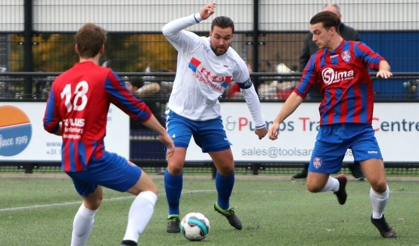 SC Botlek speelde prima, maar zette de kansen niet om in goals en verloor van Kethel Spaland.
