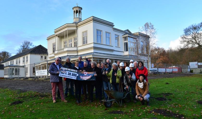 Het burgerinitiatief op Buitenplaats Ockenburgh heeft een mooi bedrag van 30.000 euro ontvangen.