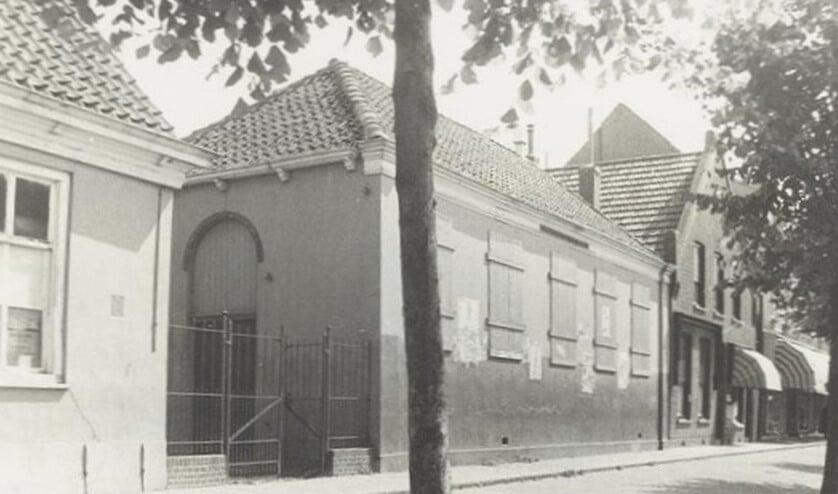 De synagoge in Middelharnis