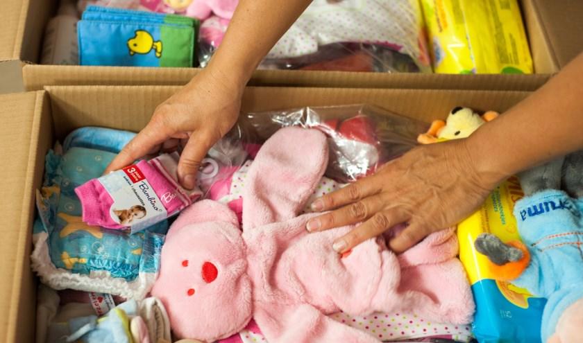 Deze week wordt de jaarlijkse inzamelingsactie voor Stichting Babyspullen gehouden.