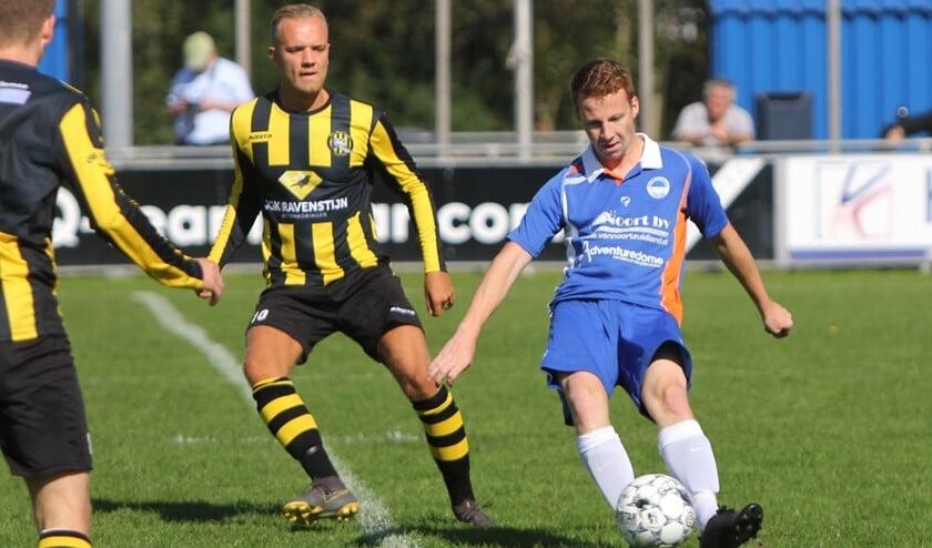 De opening van het seizoen in de derde klasse leverde voor Zuidland een punt op tegen VFC.