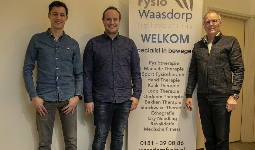 Frank en Levi zijn Eric Waasdorp dankbaar voor het geweldige team dat hij heeft opgebouwd, waardoor hun nieuwe bedrijf een flitsende start kan maken.