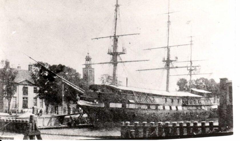 Hr. Ms. Prins van Oranje, wachtschip