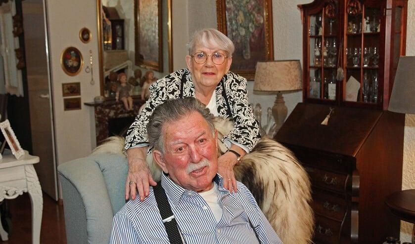 <p>Het echtpaar Rolf-Postema is gek op elkaar.&nbsp;</p>