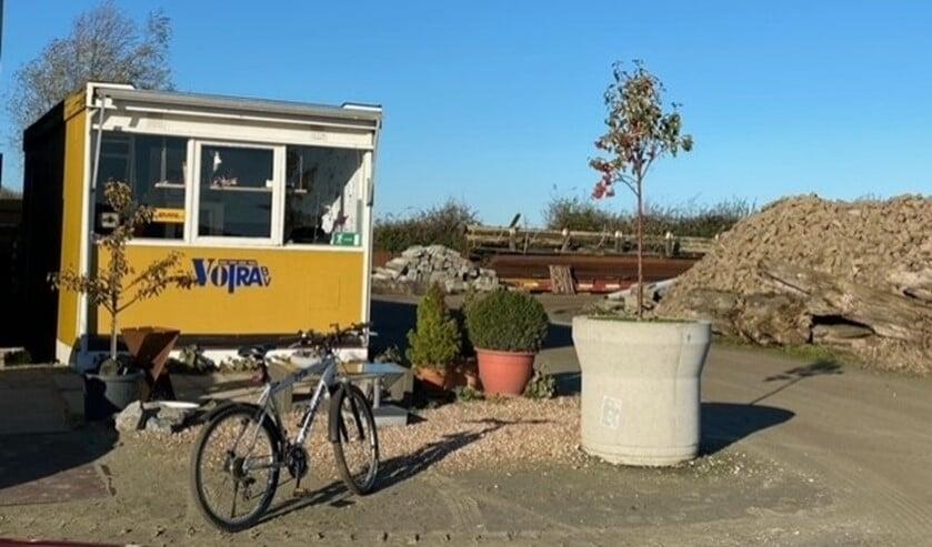 <p>Het inleverpunt op Kade 15 in Den Bommel</p>