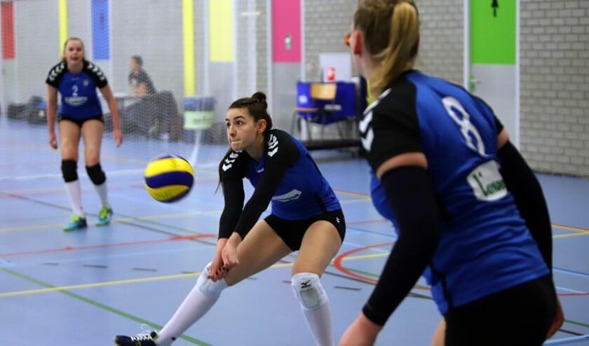 De dames van Spivo kwamen er zaterdagavond niet aan te pas in het treffen met HLB Van Daal. Het werd 0-4.