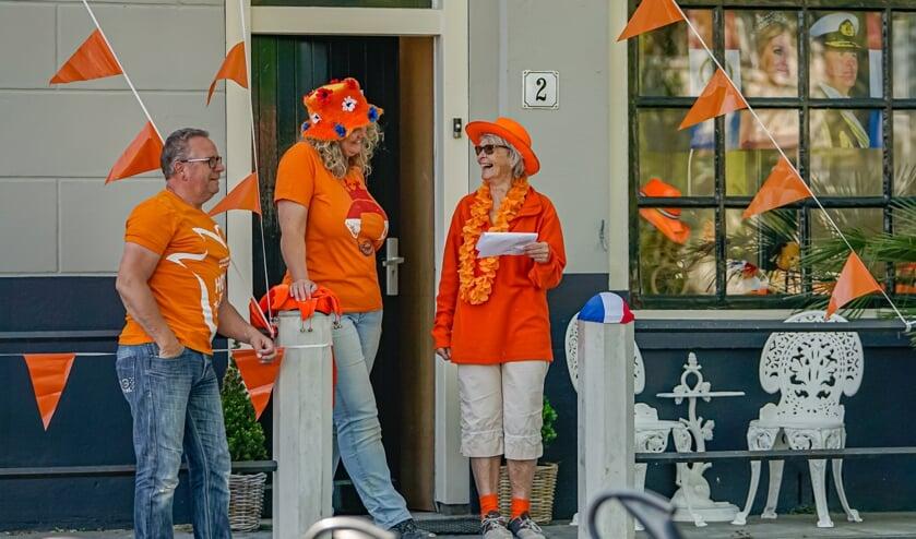 <p>Koningsdag wordt ook dit jaar gevierd vanuit de voordeur.&nbsp;</p>