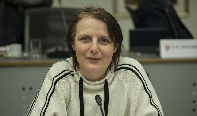 <p>Bianca Verschoor, fractievoorzitter GroenLinks</p>
