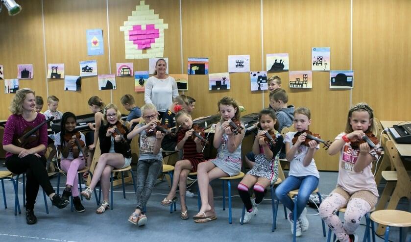 Door een mooi initiatief kan muziekonderwijs toch doorgaan.
