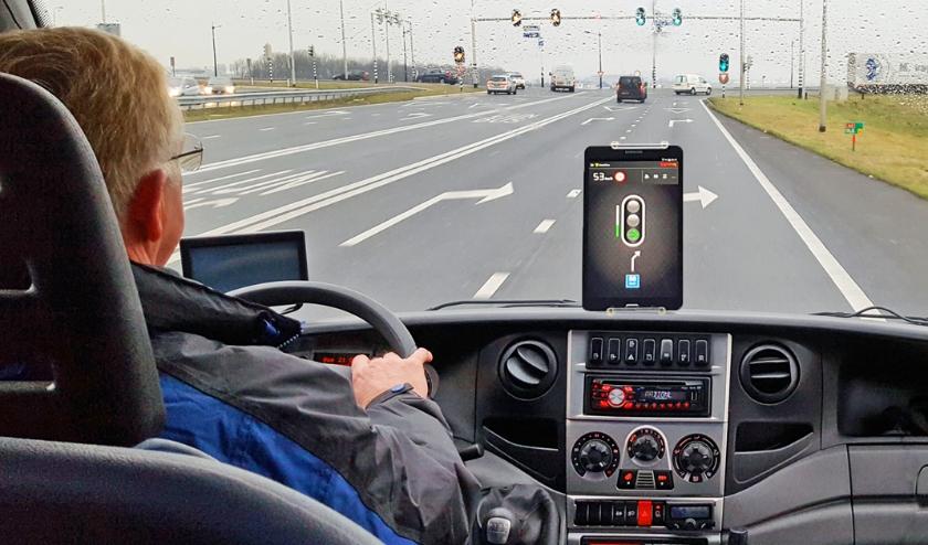 Connected rijden biedt vele voordelen:: o.a. minder brandstofverbruik en prettiger rijden voor de chauffeur. Foto: (PR)