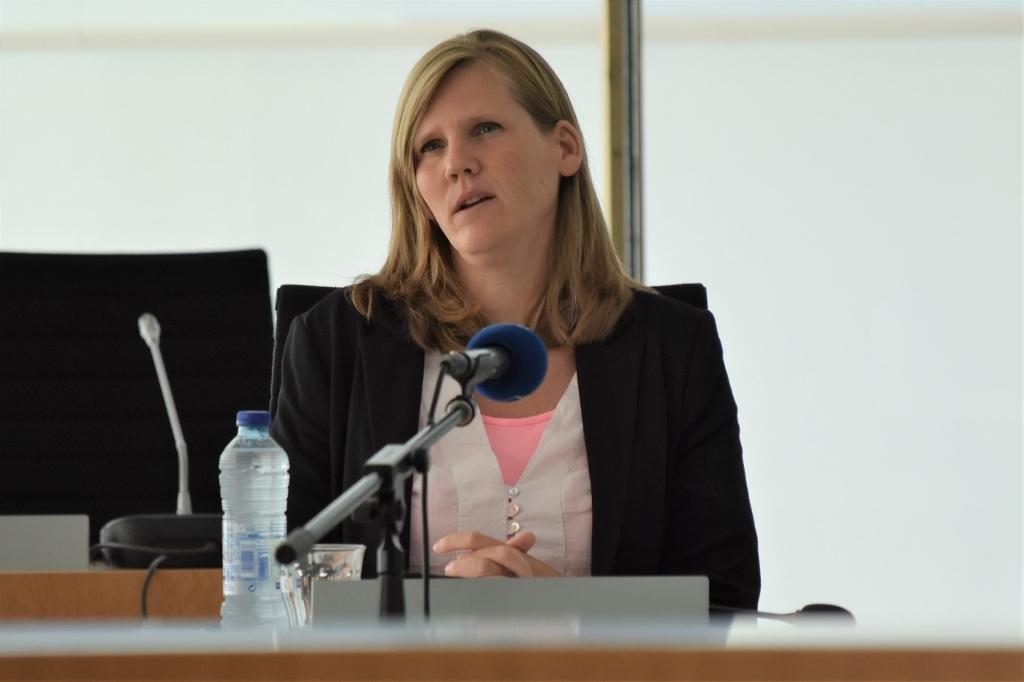 Linda Bregman van het Openbaar Ministerie.  © Groot-Westland.nl
