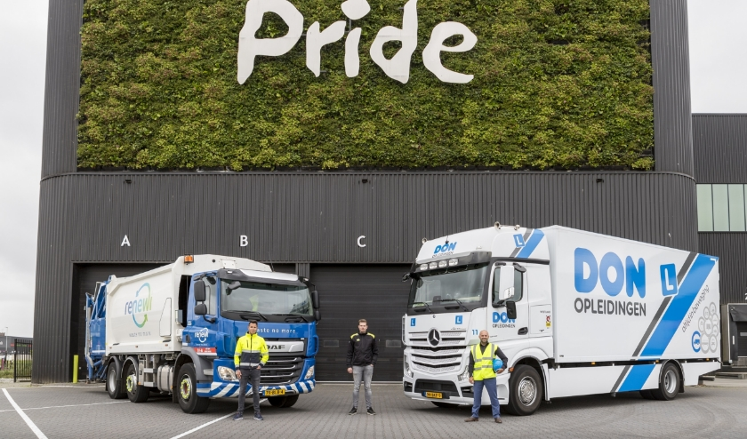 De komende maanden zal het MONO-rijden veelvuldig bij Nature's Pride, DON Opleidingen en Renewi de revue passeren. Foto: (PR)