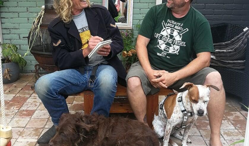 Correspondent Frank/Janine met Kliko en Bjorn Noordzij met Dushy