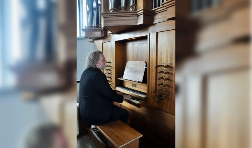 Organist Aarnoud de Groen. Foto: (PR)