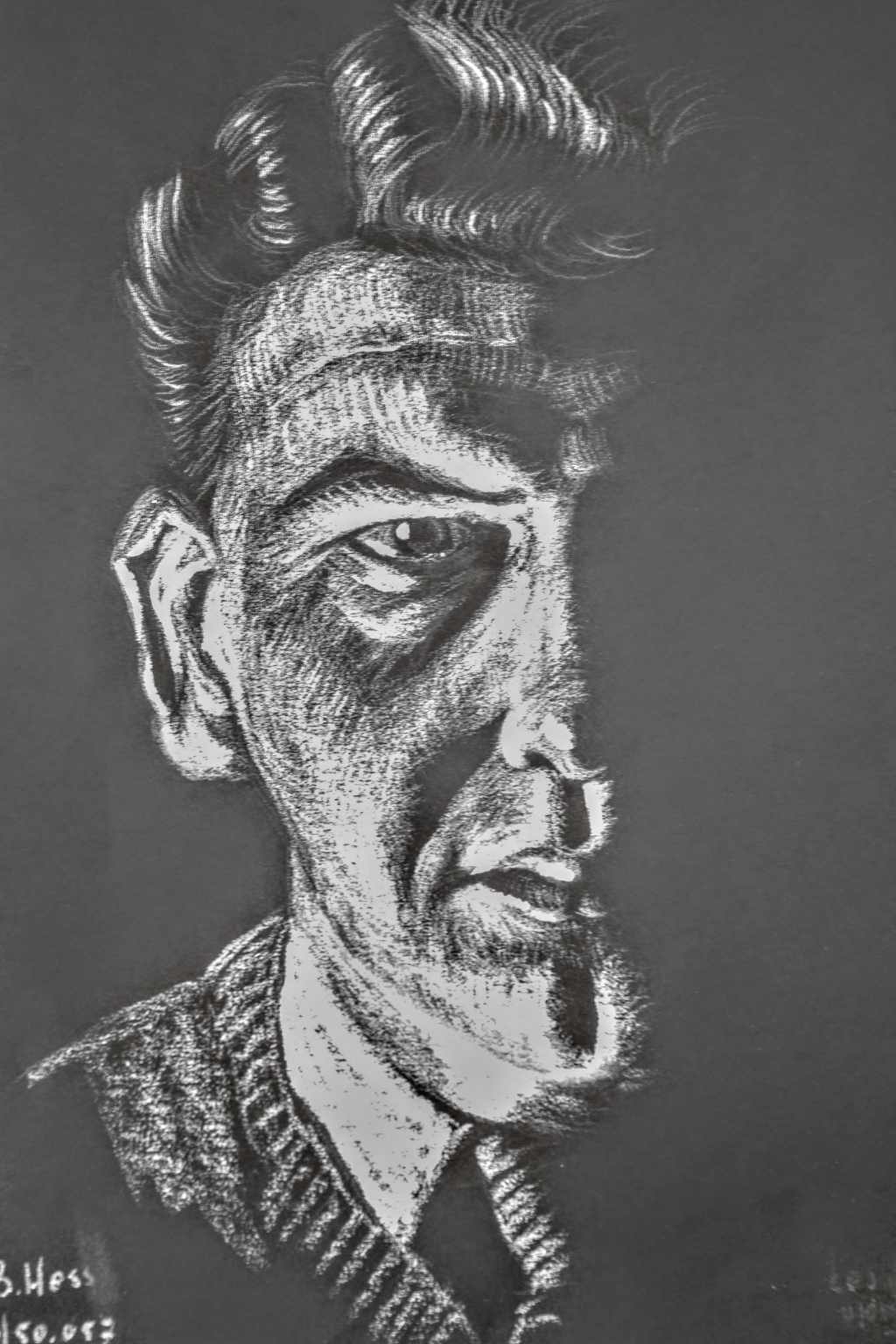 Hes zelfportret  © GGOF.nl