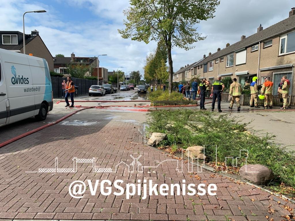 Foto: Vrijwillige brandweer via twitter © Voorne-putten.nl
