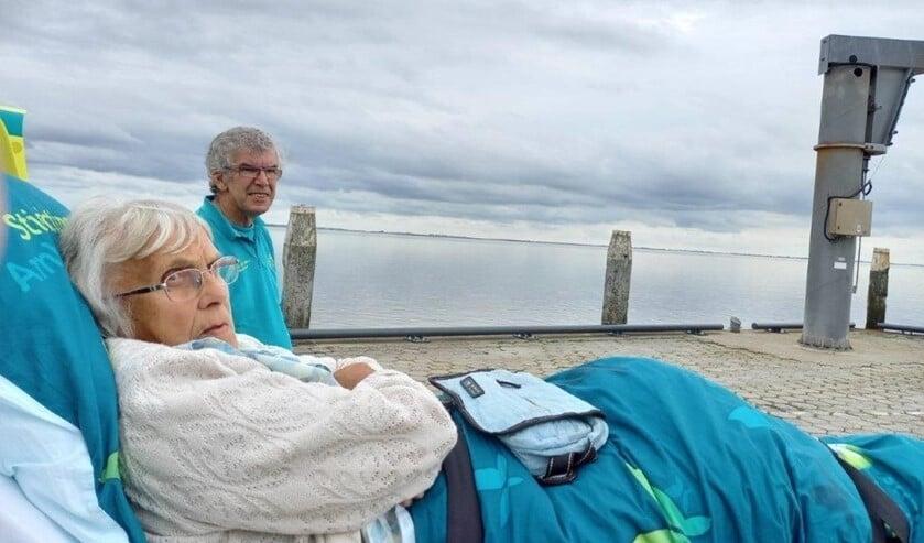 <p>&nbsp;Er werd een bezoek gebracht aan het strand met uiteraard uitzicht op zee </p>
