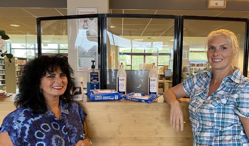 Lindsay Pelt en Cris Vaudo, de drijvende krachten achter het aanbod van de bieb